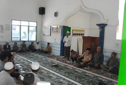 IPHI Serba Jadi Gelar Pengajian Rutin Di Mesjid Ar-Rahman